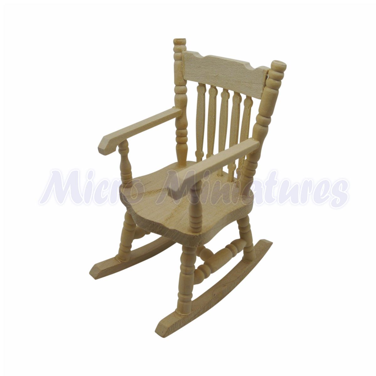 Enjoyable Details About Dolls House Rocking Chair 1 12Th Scale 00469 Andrewgaddart Wooden Chair Designs For Living Room Andrewgaddartcom