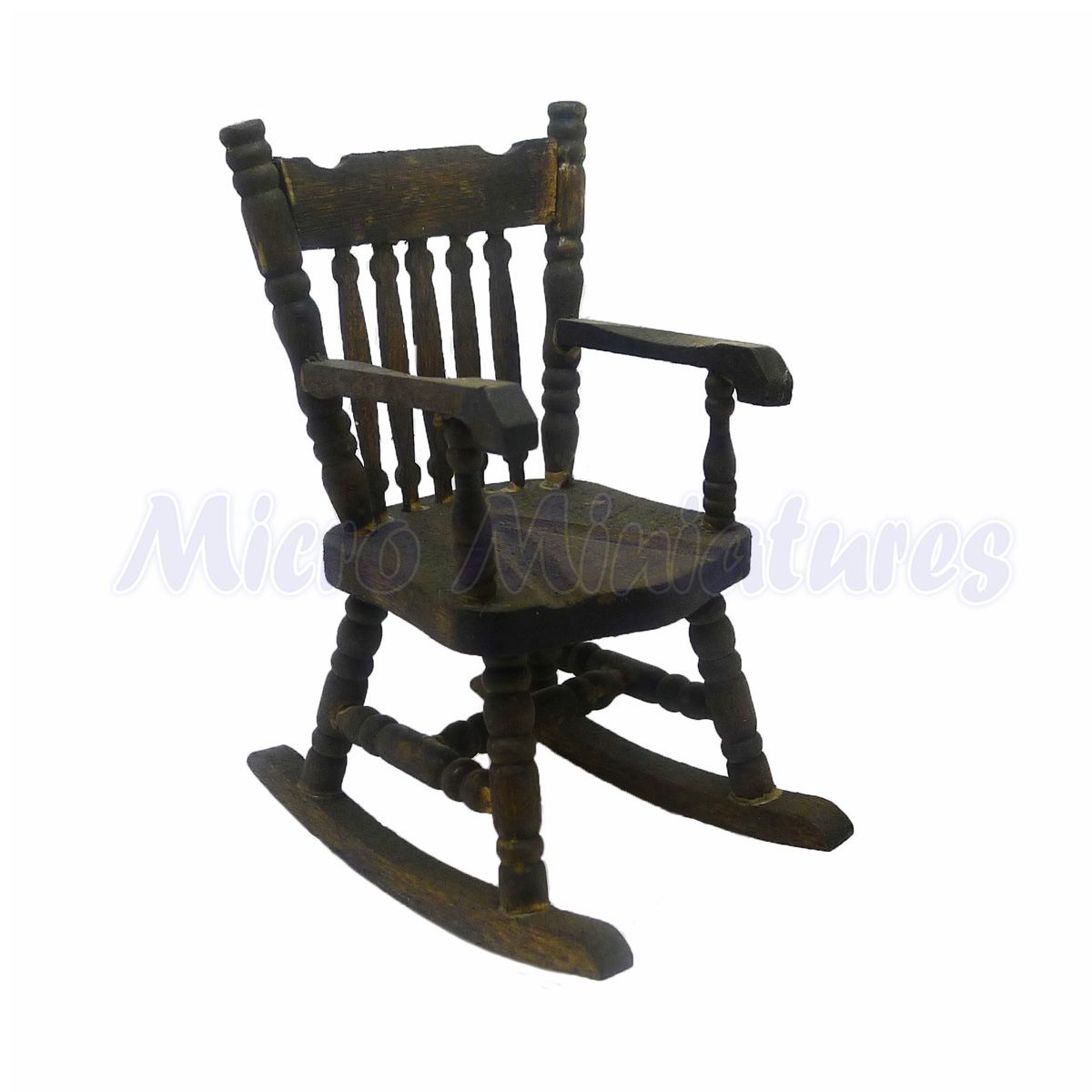 Fabulous Details About Dolls House Dark Oak Rocking Chair 1 12Th Scale 02878 Andrewgaddart Wooden Chair Designs For Living Room Andrewgaddartcom